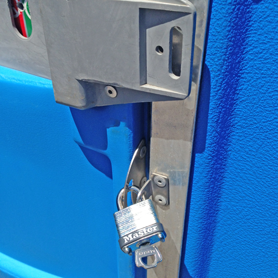 Portable Restroom Lock Kits