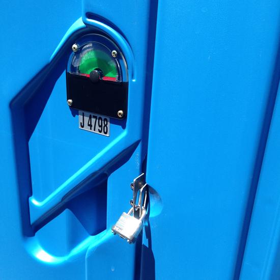 Do I Need A Luxury Portable Bathroom Trailer For My: Portable Restroom Locks