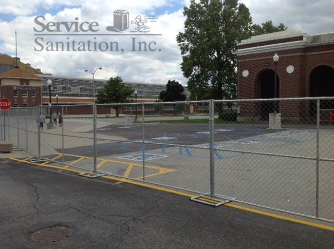 Jobsite Fence Rentals