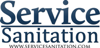 Service Sanitation Mobile Logo